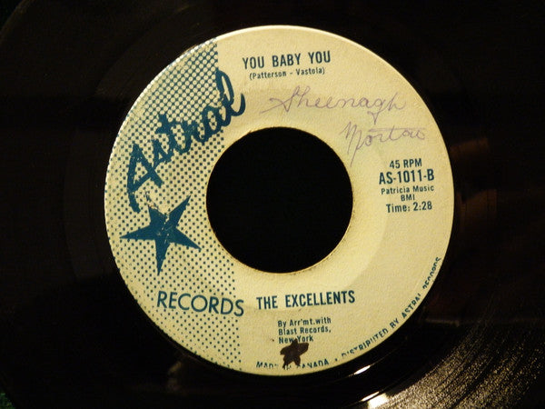 The Excellents - Coney Island Baby (45-Tours Usagé)
