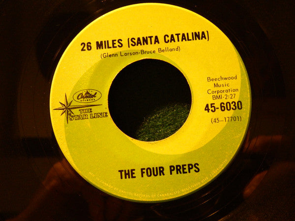The Four Preps - 26 Miles (santa Catalina) (45-Tours Usagé)