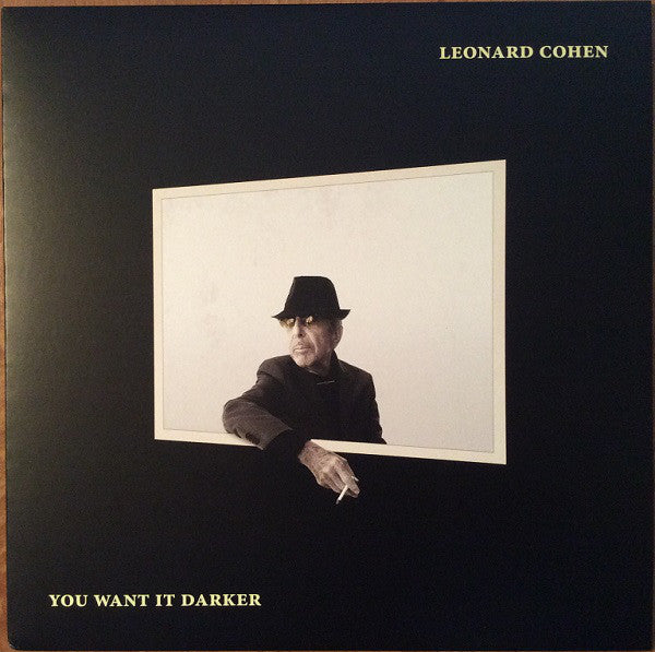 Leonard Cohen - You Want It Darker (Vinyle Neuf)