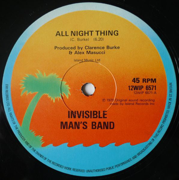 Invisible Mans Band - All Night Thing (Vinyle Usagé)