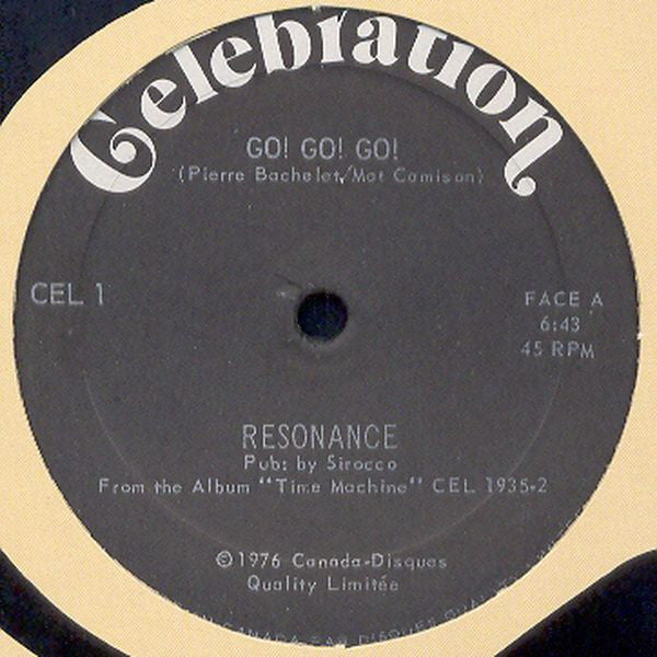 Resonance - Go Go Go (Vinyle Usagé)