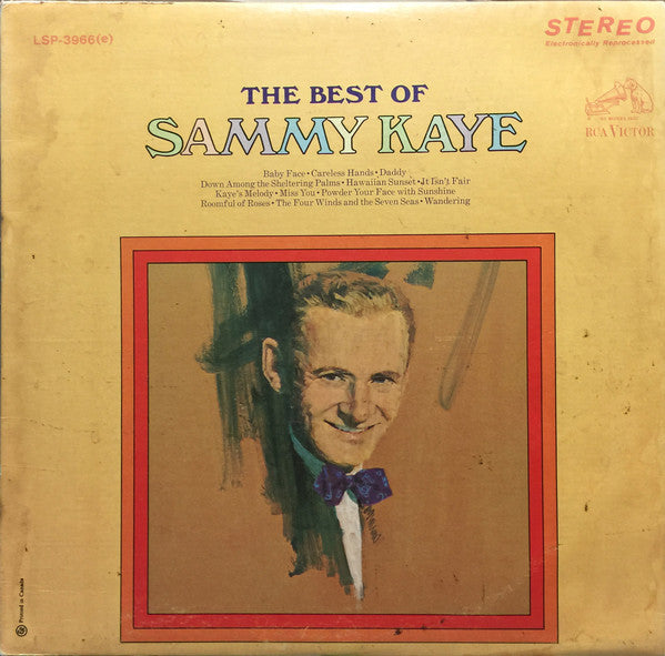 Sammy Kaye - The Best of Sammy Kaye (Vinyle Usagé)