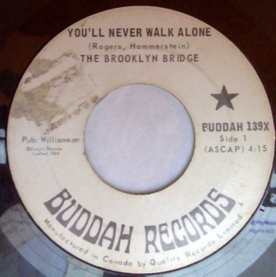 The Brooklyn Bridge - Youll Never Walk Alone (45-Tours Usagé)