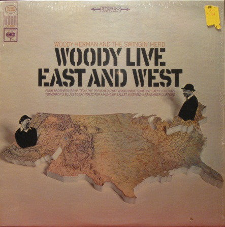 Woody Herman - Woody Live East and West (Vinyle Usagé)