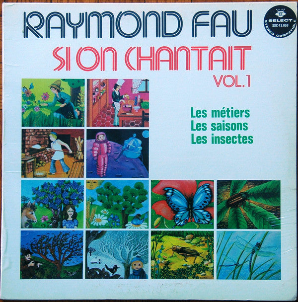 Raymond Fau - Si On Chantait Vol1 (Vinyle Usagé)