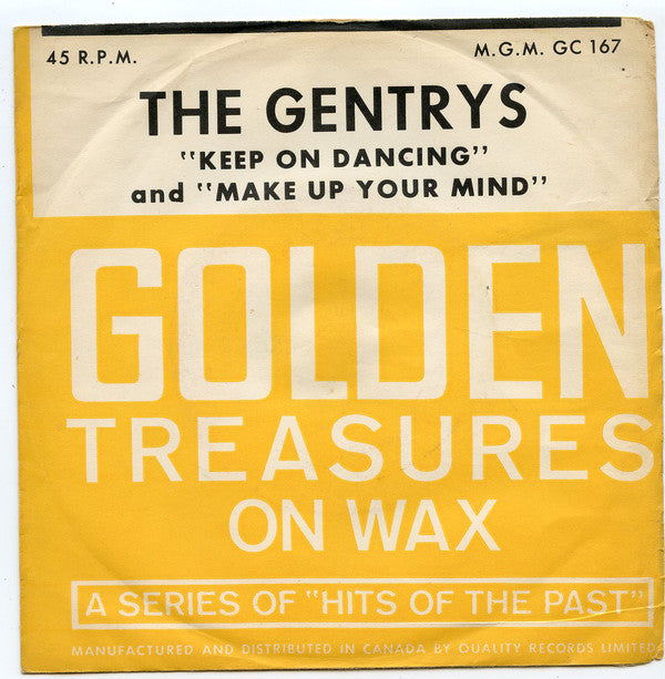 The Gentrys - Keep On Dancing (45-Tours Usagé)
