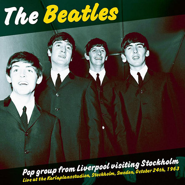 Beatles - Pop Group From Liverpool Visiting Stockholm (Vinyle Neuf)