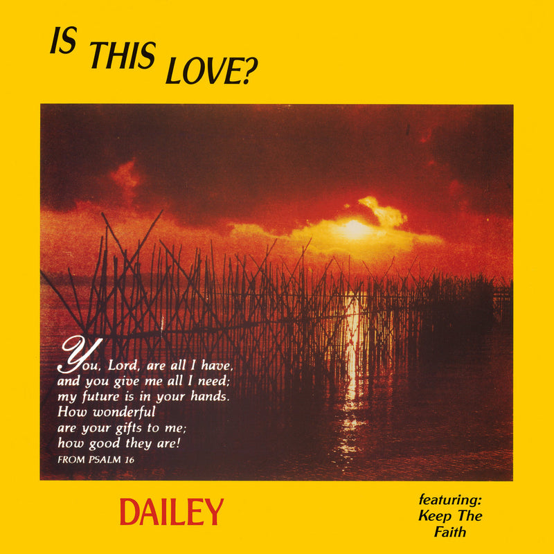 Dailey - Is This Love (Vinyle Neuf)