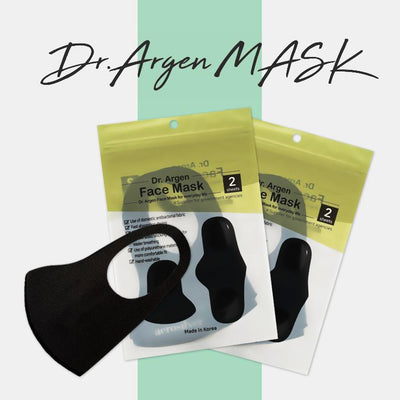 New! DR. ARGEN ANTIBACTERIAL REUSABLE FACE MASK FOR KIDS/TEEN AND ADULT (2 COUNT) - CopperMask