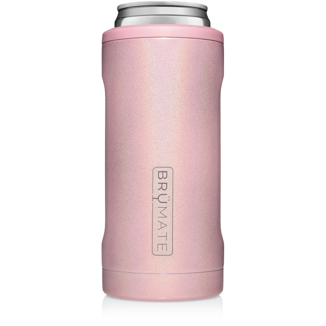 HOPSULATOR SLIM CAN-COOLER | Glitter Blush