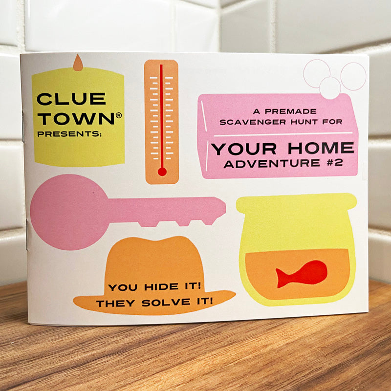 Clue Town Your Home Adventure #2