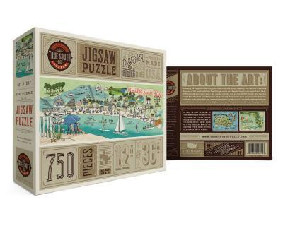 Puzzle Florida 30A 750 pieces 12x36