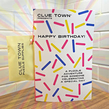 Load image into Gallery viewer, Clue Town Happy Birthday!