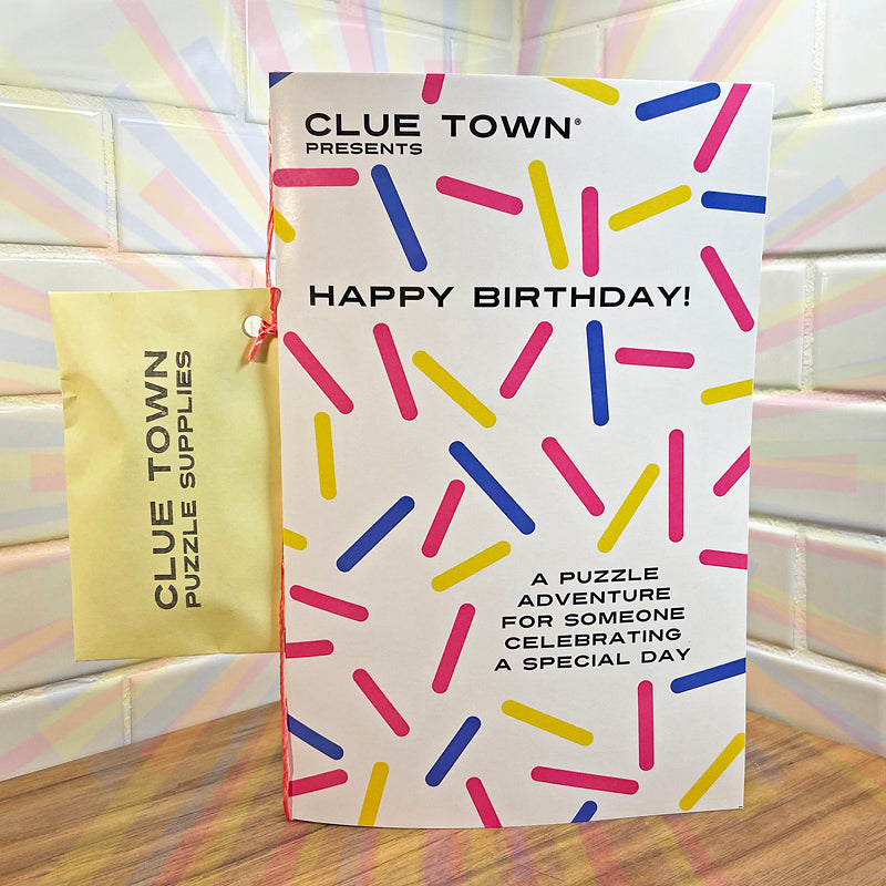 Clue Town Happy Birthday!