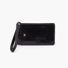 Load image into Gallery viewer, Wallet King Wristlet Black
