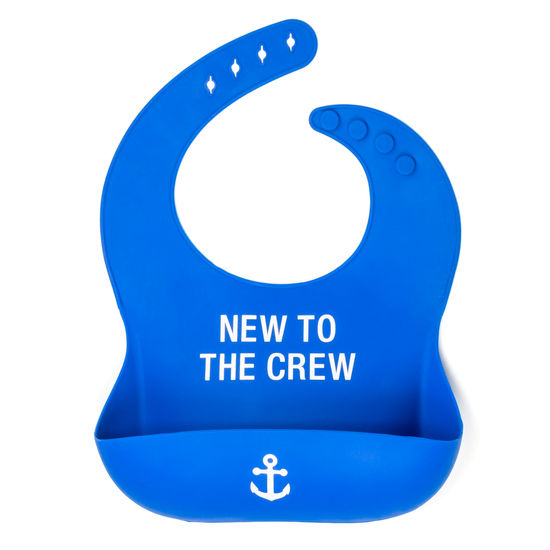 Silicone Bib New to the Crew