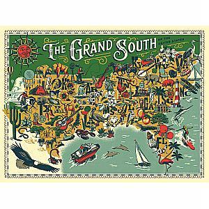 Puzzle The Grand South 500 Pieces 18x24