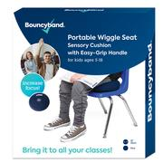 Portable Wiggle Seat With Handle Blue