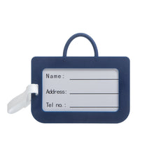 Load image into Gallery viewer, Luggage Tag Navy