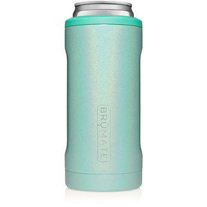 HOPSULATOR SLIM CAN-COOLER | GLITTER AQUA