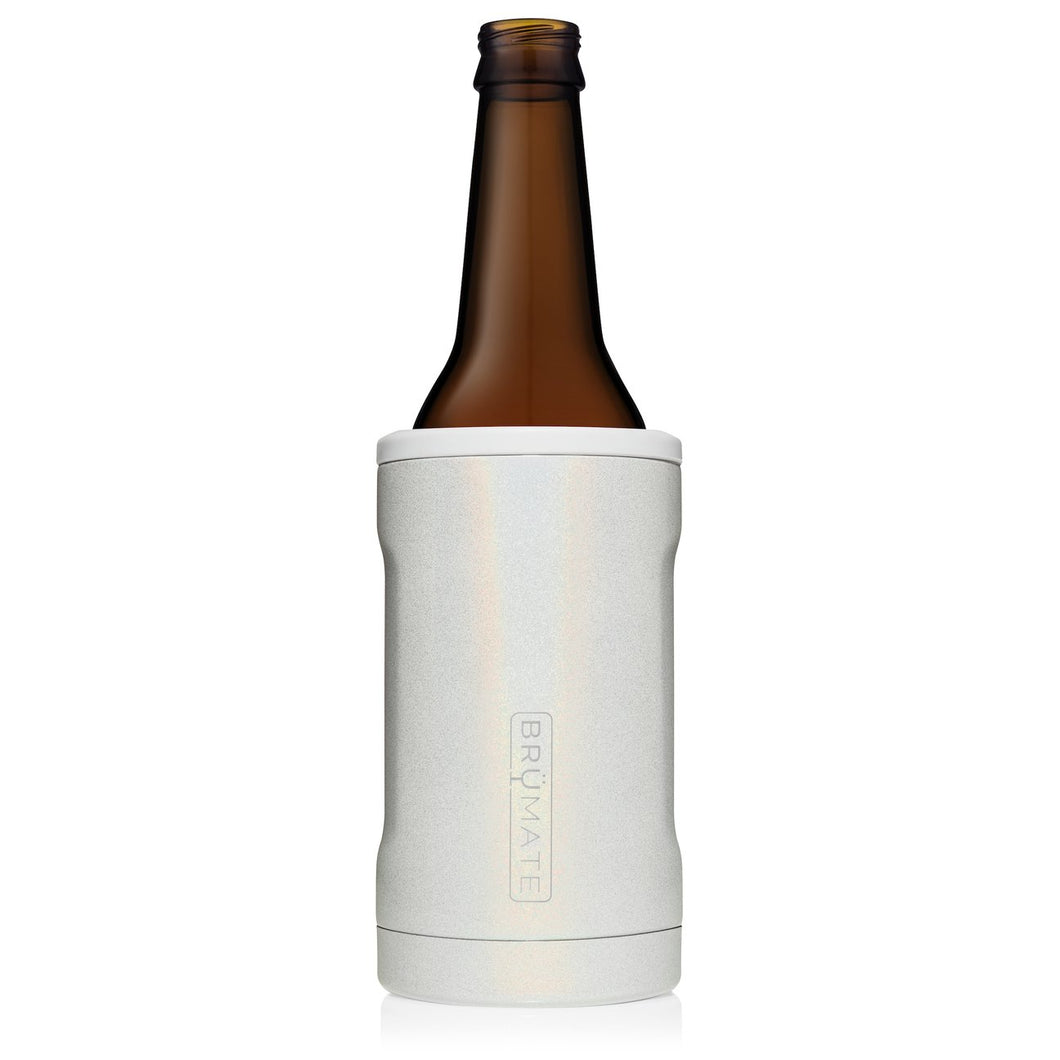HOPSULATOR BOTT'L INSULATED BOTTLE COOLER | GLITTER WHITE