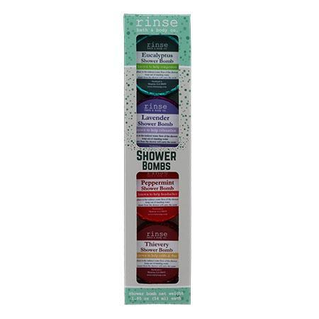 Shower Bomb 4 Pack Assortment