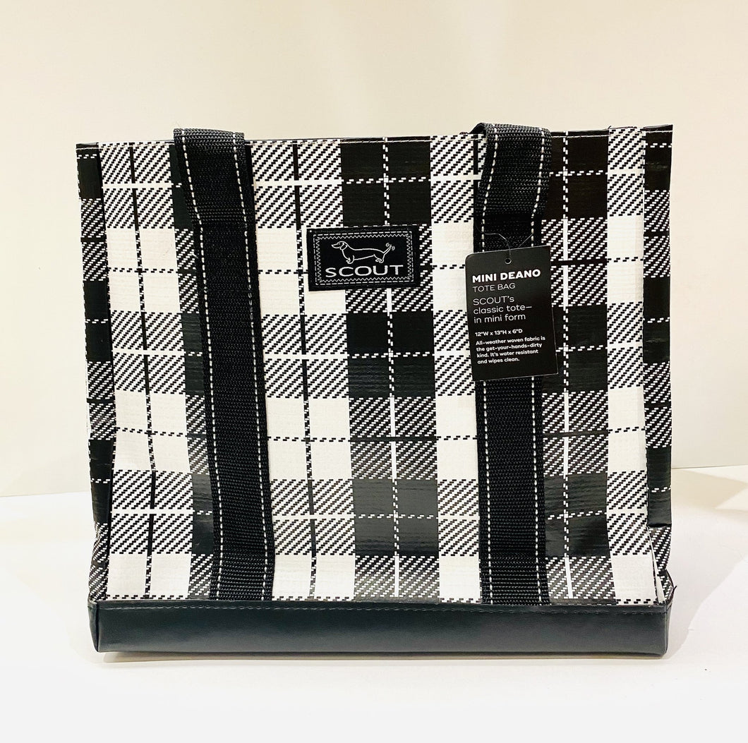 Tote Mini Deano Plaid Habit