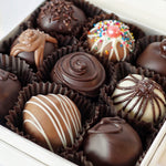 Load image into Gallery viewer, 9 Piece Box of Hand dipped Chocolate Truffles
