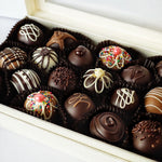 Load image into Gallery viewer, 18 Piece Box of Hand Dipped Chocolate Truffles