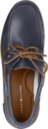 Tommy Hilfiger Leather Boat Shoe