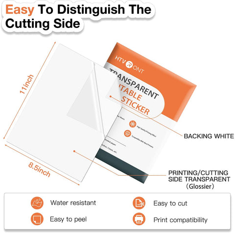 "【US warehouse】Holographic Adhesive Vinyl Sheet 12"" x 12"" - Silver for Cricut and Other Craft Cutters (special offer)"