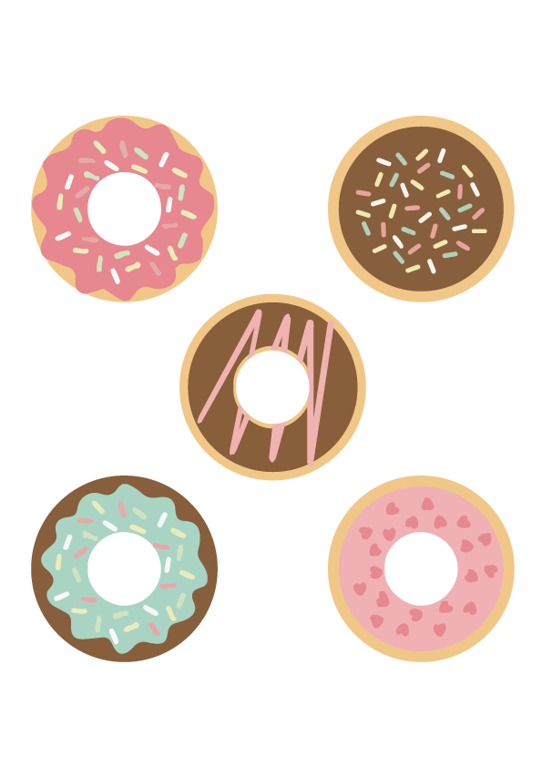 HTVRont Donuts SVG File for Free