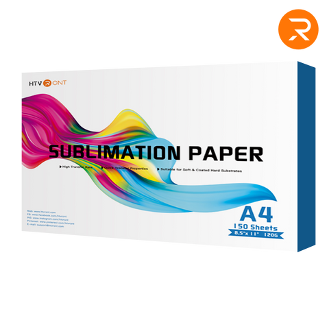 "【Pre-sale】HTVRONT Sublimation Paper 8.5"" x 11 Inch 150 Sheets A4 Sublimation Transfer Paper for Inkjet Printer (Shipping after 30th April)"