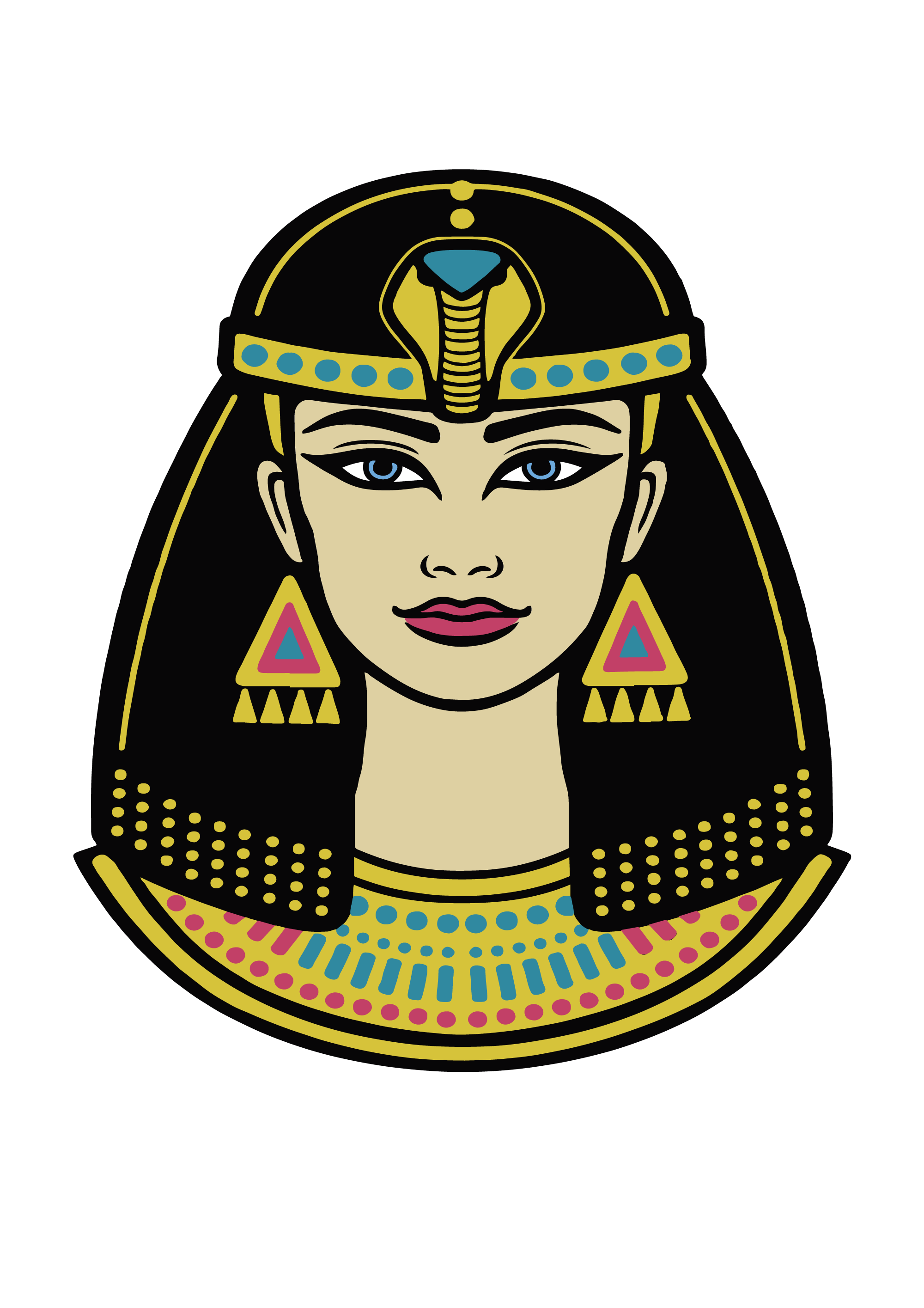 HTVRONT Free SVG File for Download - Cleopatra