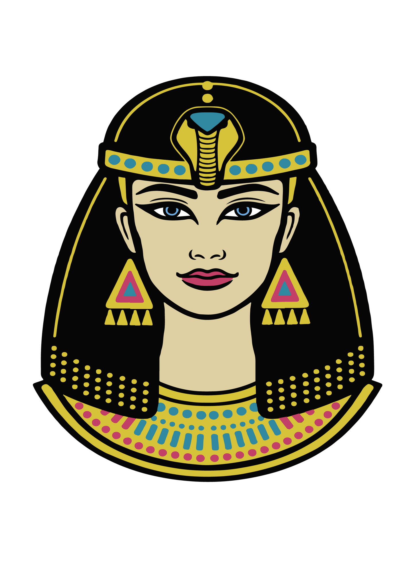 Free SVG File for Download - Cleopatra