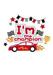 Free SVG File for Download - I'm the champion