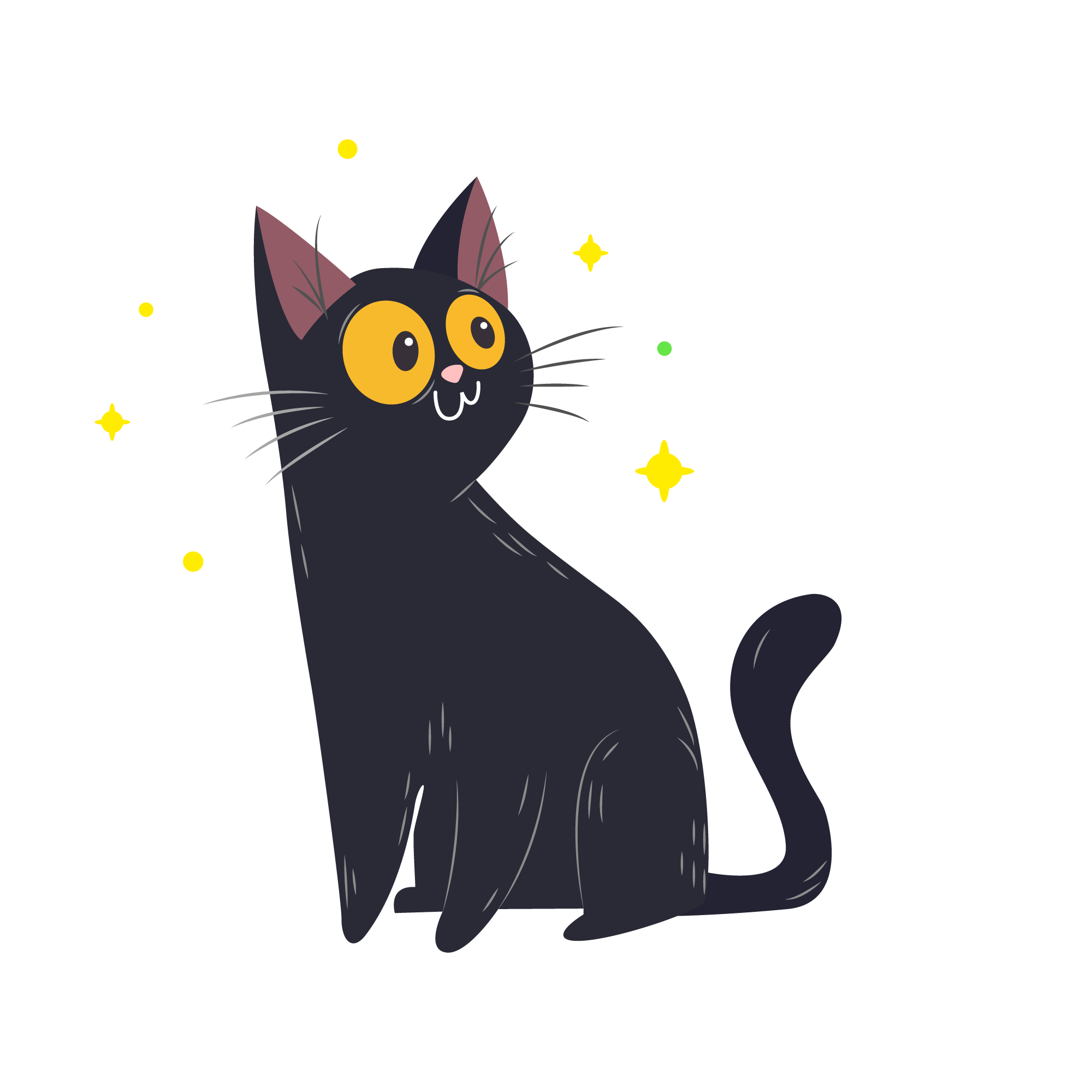 Free SVG File for Download - Cat