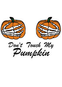 Free SVG File for Download - Don't touch my pumpkin