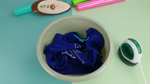 Tips for Washing Shirts with HTV Vinyl