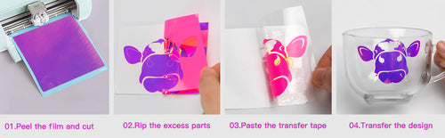 How to use holographic vinyl