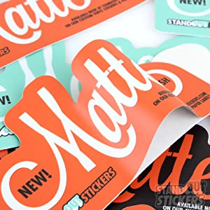 strong adhesion&durable of glossy sticker paper