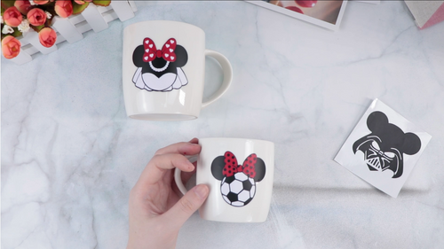 How to make vinyl decals for cups with cricut