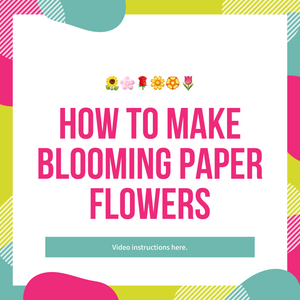 How to make Blooming Paper Flowers!
