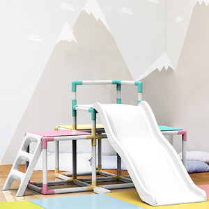 Jungle Gym with a Slide (Pastel)