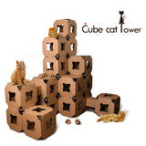 Cube Cat Tower (10 cubes)