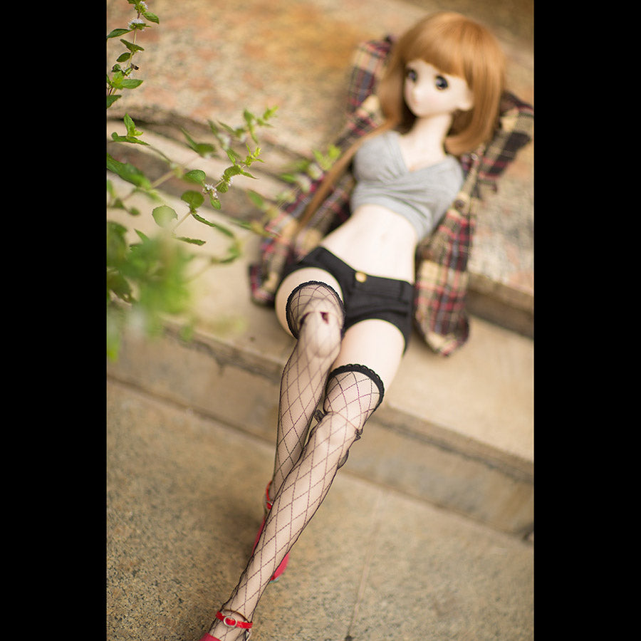 BYBJDHOME December new BJD SD Doll Clothes Limited Black lace fishnet stockings Sexy and good match