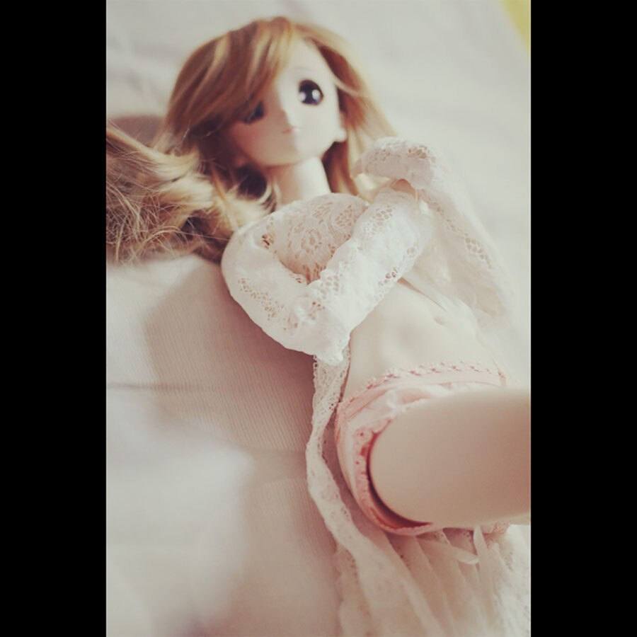 BYBJDHOME Doll Clothes December new BJD Doll use Clothes Lace transparent coat cardigan pajamas sexy nightgown