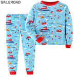SAILEROAD Childrens Clothing Sets Cartoon Dogs Pattern a Little Girls Outfit Suits Clothes Girl Child Clothes Sets 2 to 7Years