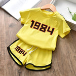 Childrens Clothing Sets Infant Toddler Baby Clothes 2pieces Cotton Sport Suit for Kids Girls Clothes Tracksuit Boys 1 2- 8 Years
