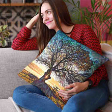 Load image into Gallery viewer, Daydream Tree Throw Pillow - Home Decor - Couch Pillow personalized gifts custom gift idea Expanded Perspective